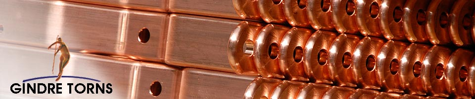 Copper components | Gindre Torns